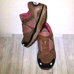 MBT Brown, Tan and Pink Walking Shape Up Shoes 11